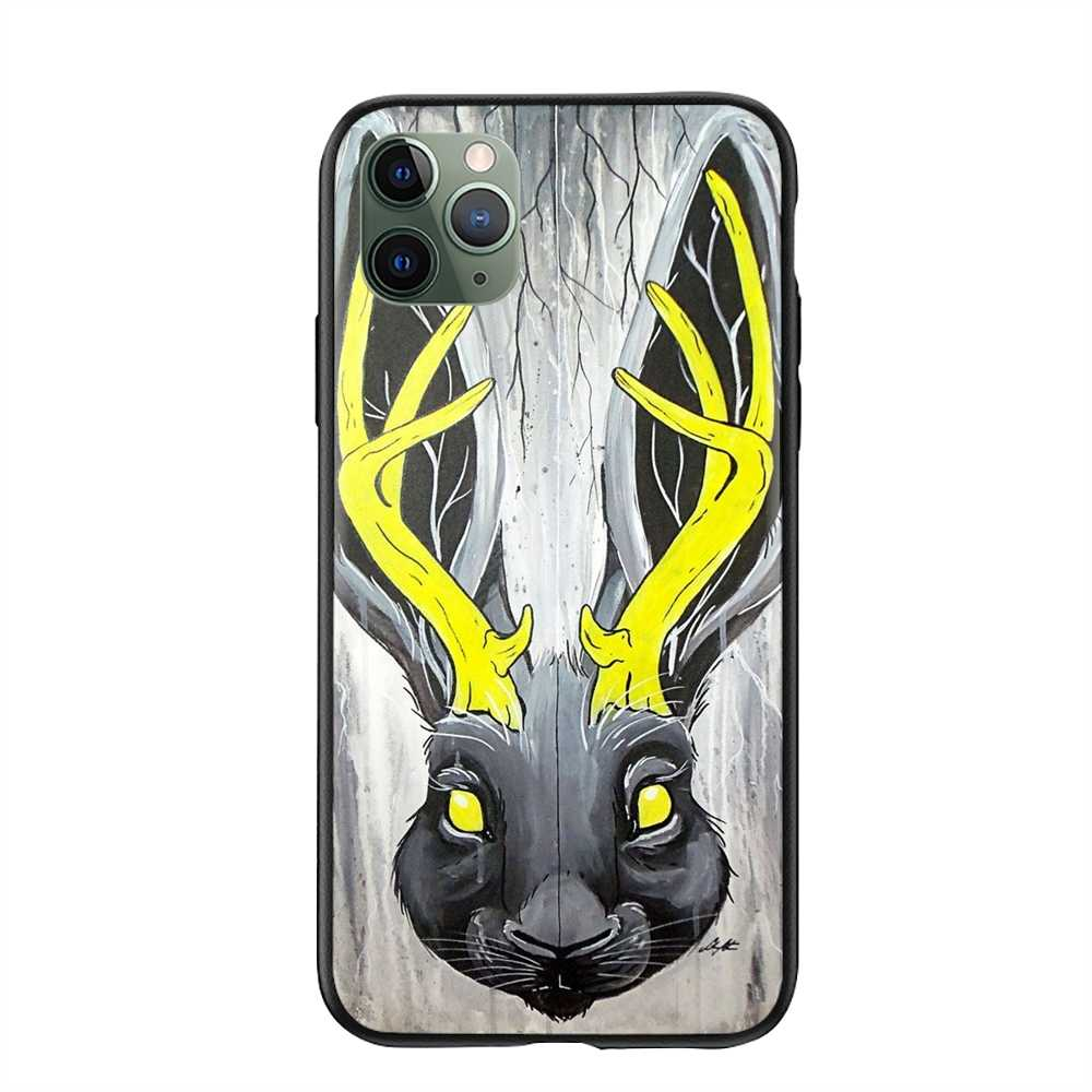 For Men Movie Looking For The Jackalope Wallpaper Cases For Iphone 5 Uk Hard Plastic Phone Shell Case Fitted Cases Aliexpress