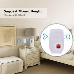 Image 4 - 6 4 sztuk ultradźwiękowy przeciw komarom Killler elektroniczny owad odrzucić odstraszacz szczur mysz karaluch urządzenie odstraszające szkodniki