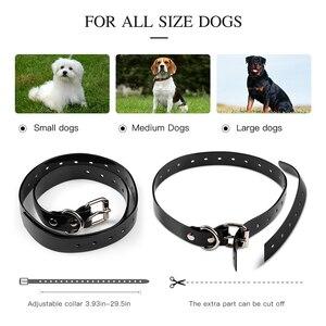 Image 3 - Collar eléctrico de choque del perro del sistema de cercado de las mascotas con Control remoto eléctrico impermeable para el dispositivo grande del Entrenamiento de mascotas del perro 5