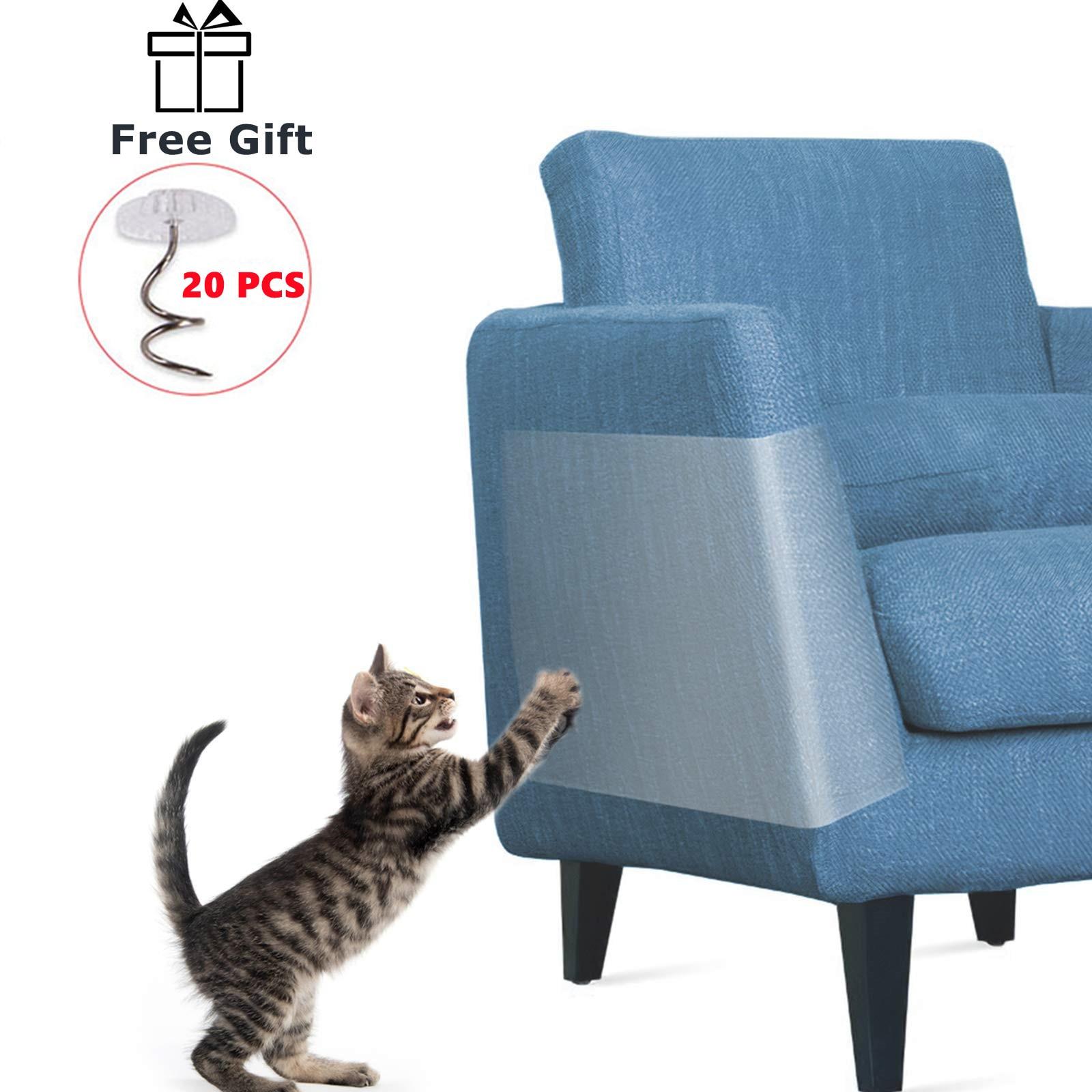 Anti Cat Scratcher Guard Cat tiragraffi mobili divano divano Protector raschietto per gatti deterrente nastro zampa pad protezione tappeto