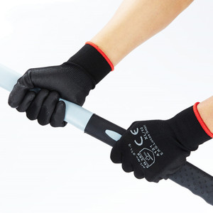 Image 2 - Anti cut safety gloves PU coating XL Multipurpose working gloves for garden Builders Car repair House cleaning Hand protection