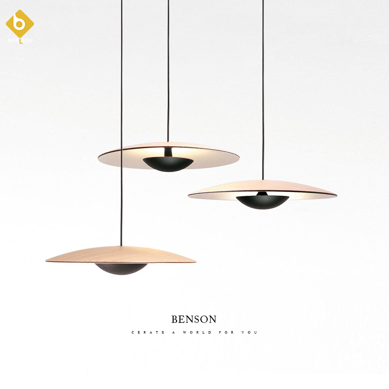 Post-modern Art Restaurant Pendant Lamp Nordic Simple Dining Table Bedside Bed Three Round Bar Cosmos Pendant Lights
