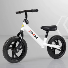 Kids Balance Bike No Pedals Height Adjustable Bicycle Riding Walking Learning Scooter with 360° rotatable handlebar