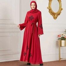 Siskakia Maxi Dresses Red Chic Ethnic Em