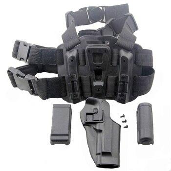 Beretta 92/96 Tactical Pistol Holster Hunting Airsoft Thigh Leg Holster Right Hand Gun Case Army Military Shooting Gun Holster 5