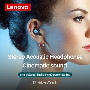 Image 4 - Lenovo XT91 TWS Earbuds Touch Control Sport Headset Sweatproof In ear Earphones with Mic Bluetooth 5.0 True Wireless Headphones