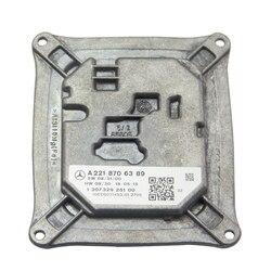Bedehon 1 قطعة A2218706389 A2168203789 يوم تشغيل كابح إضاءة ل بنز W221 2009-2013 130732925100