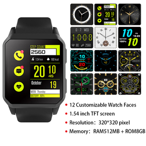 Image 5 - Bluetooth Call IP68 Waterproof Smart Watch Men GPS Pedometer Heart Rate Monitor WIFI 3G Android Smartwatch For Android IOS