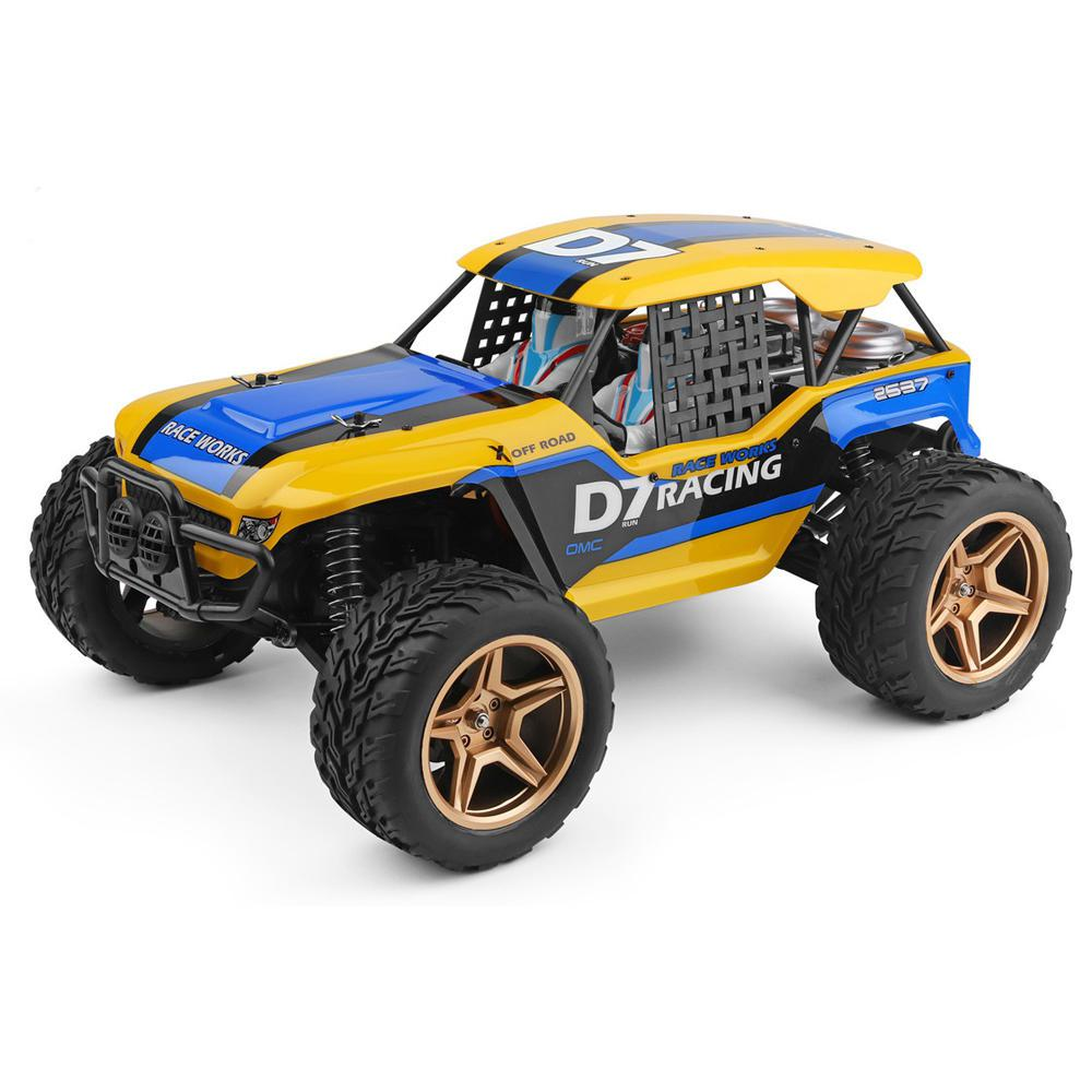 Wltoys 12402a 1/12 4WD 2.4G RC Car Dessert Baja Vehicle Models High Speed 45km/h Remote Control Car Adults Off-Road Vehicle Toy