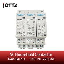 Американская классификация проводов 2р 16A/20A/25A 220 V/230 V 50/60HZ din rail AC контактор для дома 1NO 1NC/2NO/2NC