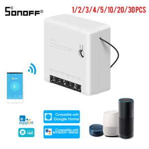 Image 1 - SONOFF Mini Two Way Intelligent Switch DIY Appliance Automation Remote Control Switches for Alexa Google Home WiFi Smart Switch