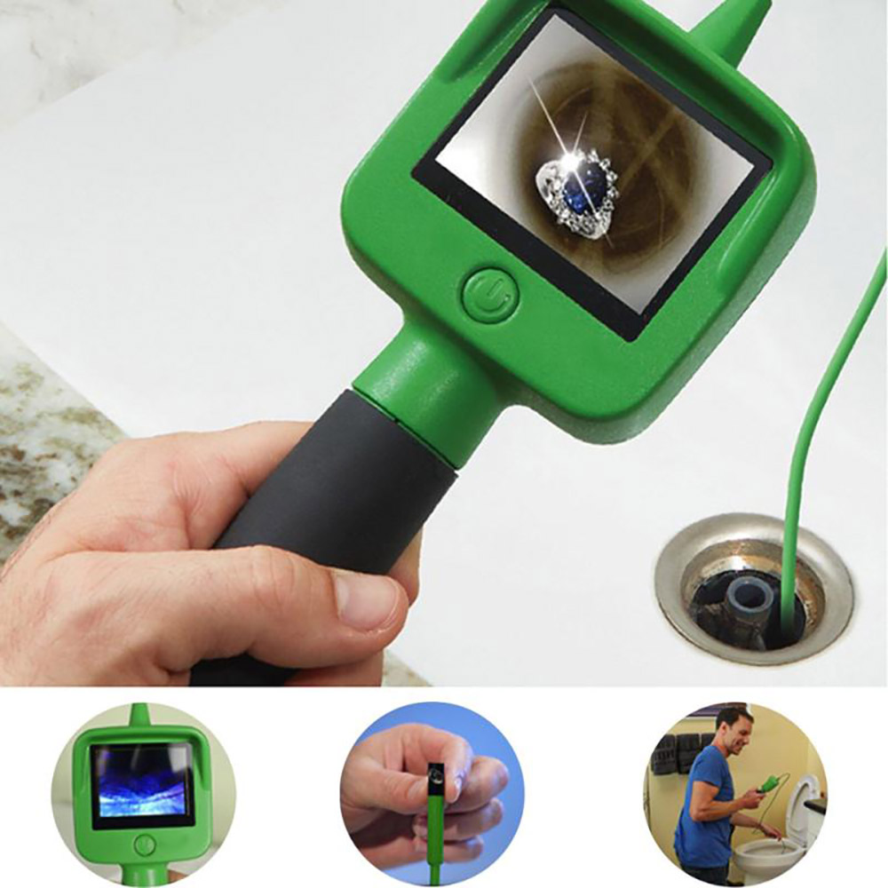 Handheld Wireless Home Endoscope Duct Endoscope Suitable Observing Vents Electrical Appliances Drains