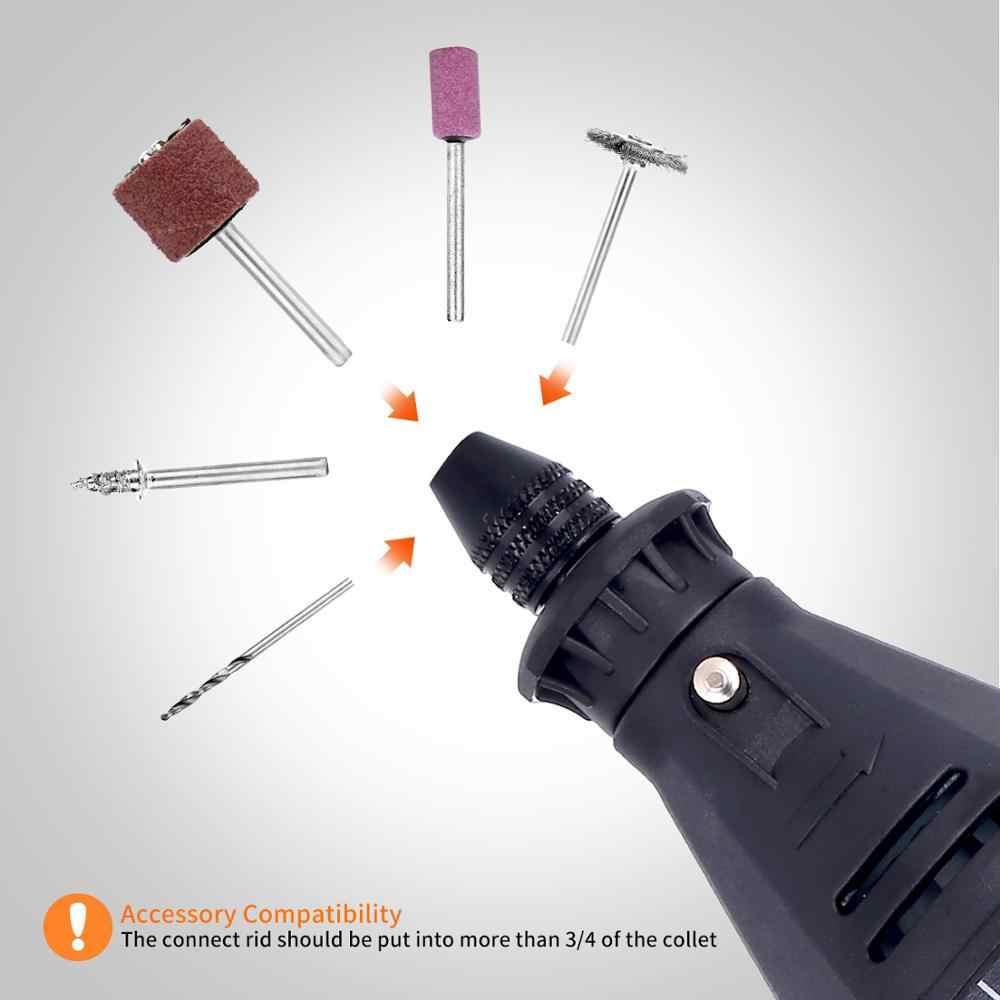 GOXAWEE perceuse électrique graveur Mini perceuse meuleuse Dremel trousse à outils rotative avec accessoires Dremel perceuse outil électrique