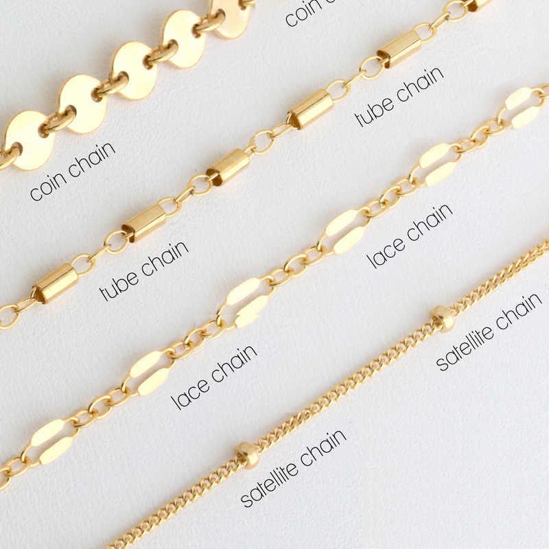 Pickyz 4 Stks/set Bohemen Multilayer Goud Zilver Kleur Munt Buis Kant Satelliet Chain Armbanden Voor Vrouwen Voet Keten Enkelbanden Geschenken