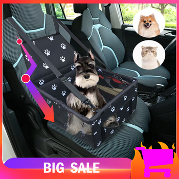 Travel Waterproof Pet Dog Carrier Rear Back Car Seat Cover Transport Cushion Hammock For Puppy Cat