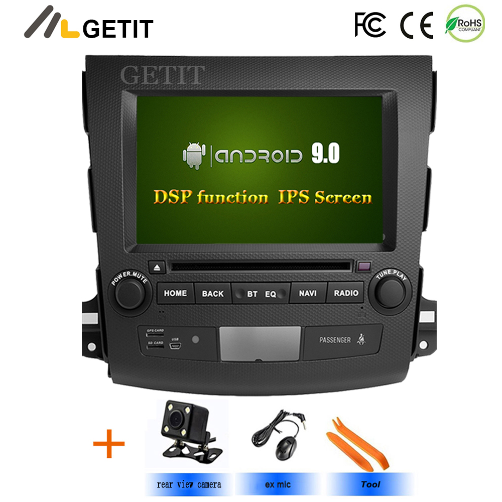 DSP IPS screen 4G 64G Android 9 0 AV Output 2 DIN CAR DVD PLAYER For