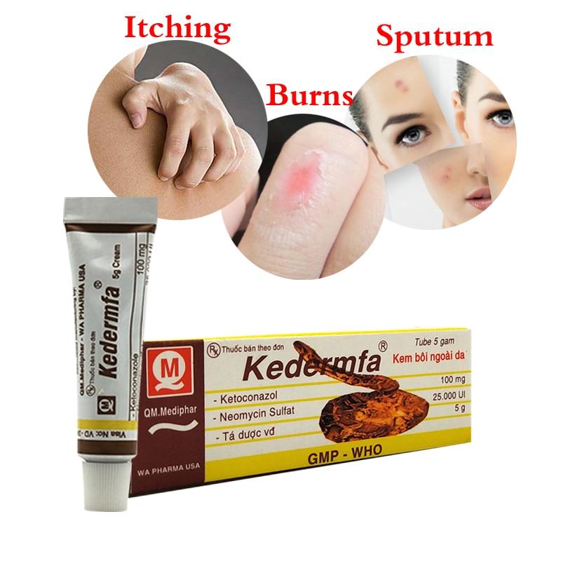 Vietnam Kedermfa Snake Oil Itching Ointment Remove Scar Cream Striae Gravidarum Pigmentation Acne Burn Cream Natural Plaster