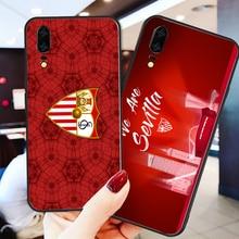 Phone Case Barega For Huawei Mate10 Lite 20X Black Soft TPU DIY Case For Sevilla FC Nova5 Mate 8 Mate 9 P30 Pro G10 Nova5 Pro 5i real sociedad sevilla fc