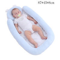 Portable Baby Crib with Detachable pillow Nest Nursery Travel Bionic Folding Bed Infant Cradle 0 36M Sleeper Babynest