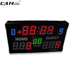Светодиодный баскетбольный электронный табло напрямую от производителя продажа настраиваемых 24 секунд футбол Волан пинг-понг игры Sc