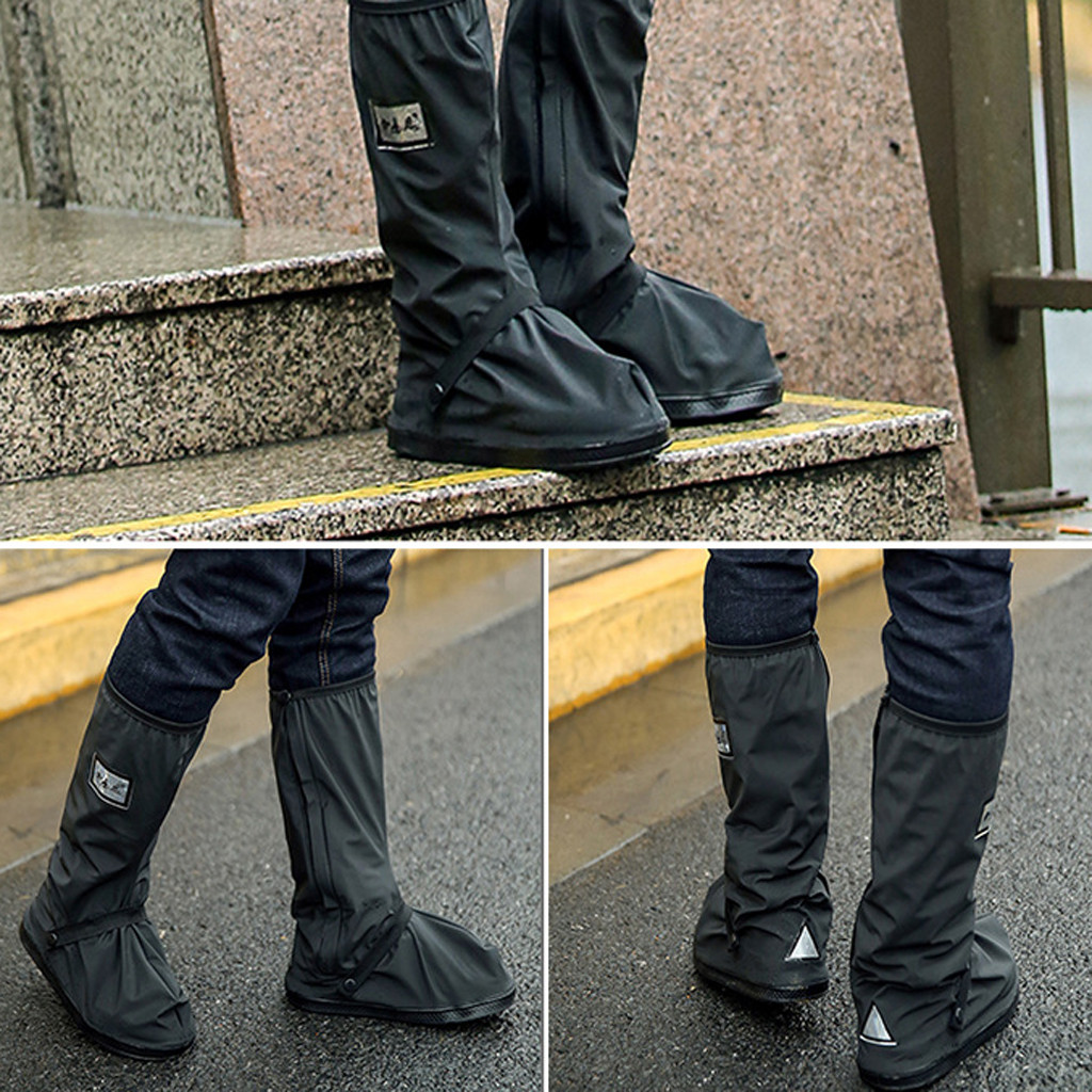Waterproof High Top Shoe Protector to Cover Shoes in Rainy Days and Prevent Shoes from Mud and Dust Suitable for Outdoor Walking 1
