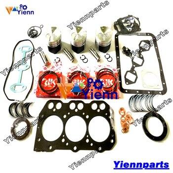 For Yanmar 3D76E Overhaul Rebuild Kit 719717-92670 119717-22080 Excavator  Engine Repair Parts
