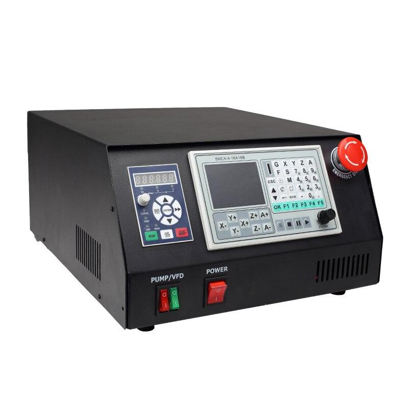 ЧПУ 6040 4 оси фрезерный станок для металла, Деревообработка Стерео полностью автоматический гравировальный станок