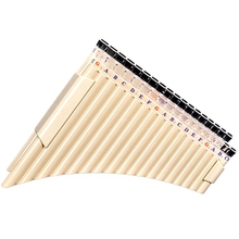 Pan Flute 36 Pipes Multifunction Panpipe Resin for School St