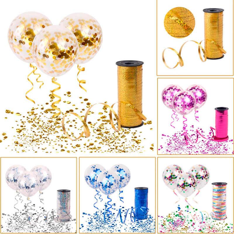 12 אינץ זהב לטקס קונפטי בלוני חתונת קישוטי קיד של צעצוע מסיבת יום הולדת תינוק מקלחת דקור Globos בלון אוויר טובות
