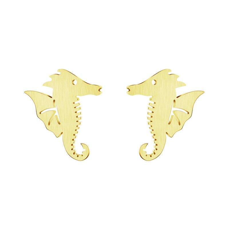 Geometric Earrings Big Vintage for Women Gold Silver Statement Earring 2019 Metal Hanging