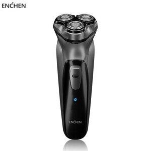 Image 1 - Enchen Black Stone 3D Electric Shaver Smart Control Blocking Protection Razor Type C Rechargeable Men