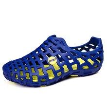 Summer Men Shoes Beach Sandals Casual Shoes Outdoor Clogs Sea River Slides Unisex Couple Shoes Men's