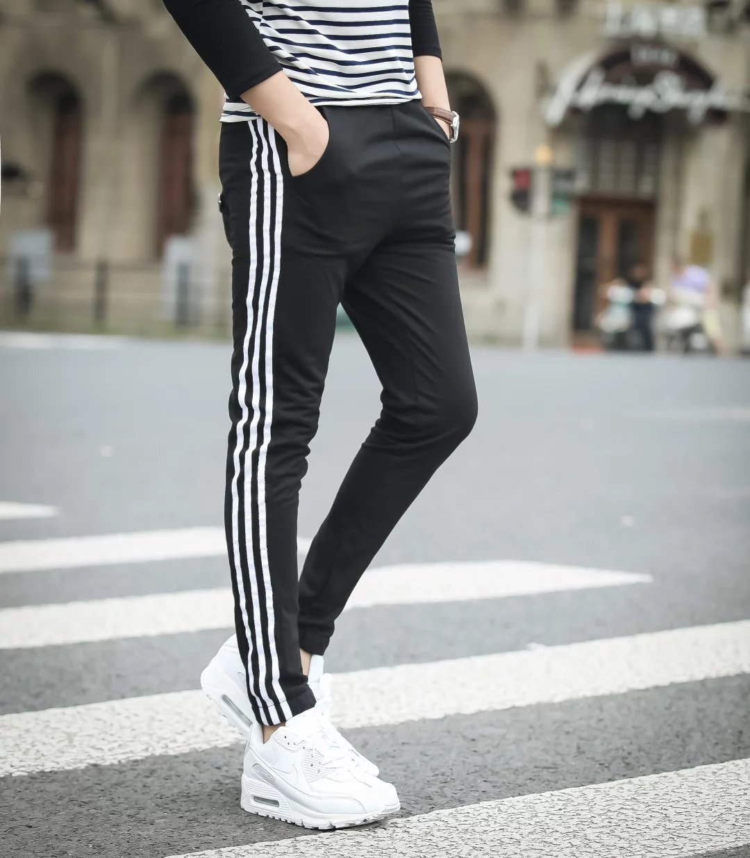 2016 New Style Harem Pants Men's Large Size Casual Pants Youth Men Loose-Fit Skinny Sports Sweatpants Trousers Fashion