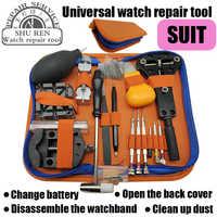 Uhr werkzeuge, flasche dosenöffner, strap teller, strap abzufangen kombinationen, pinzette, schraubendreher, uhr reparatur werkzeug kit