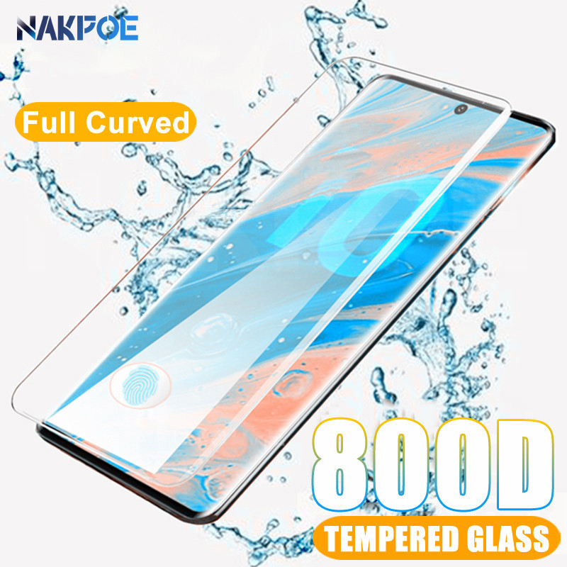 800D Curved Protective Glass For Samsung Galaxy S10 S9 S8 Plus Screen Protector For S10e S7 Edge Note 8 9 10 Plus Tempered Glass