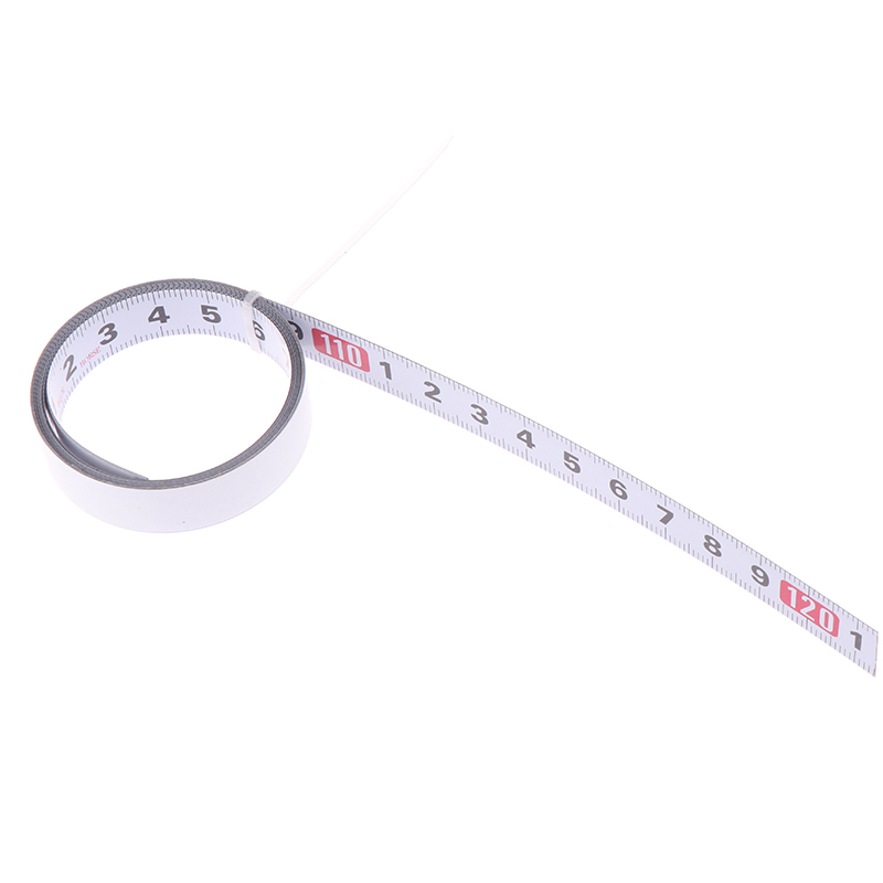 Self Adhesive Measure Metric Steel Ruler Miter Track Tape Miter Saw Scale For T-track Router Table Saw Band Saw Woodworking Tool