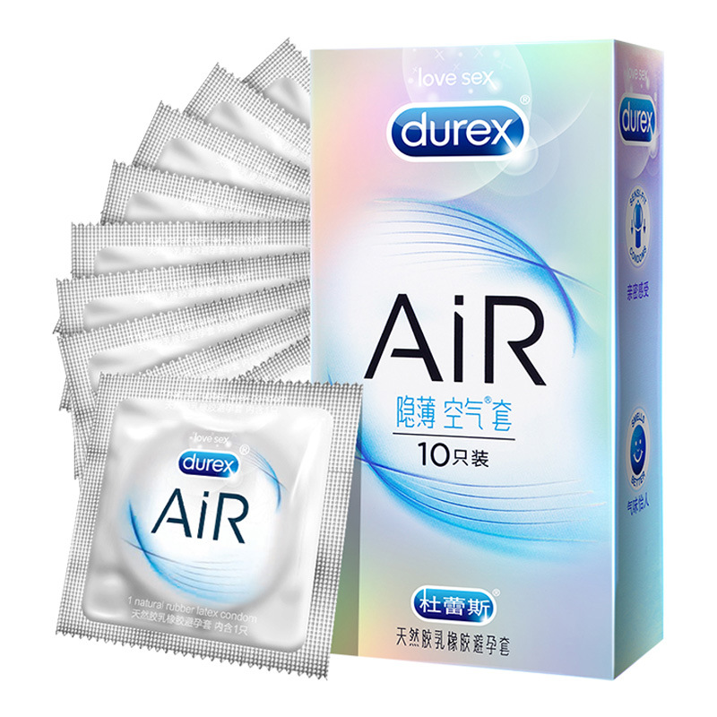 Durex Air Set AIR10 Loaded Thin-Condom Adult Products Formal Authorized A Generation Wholesale
