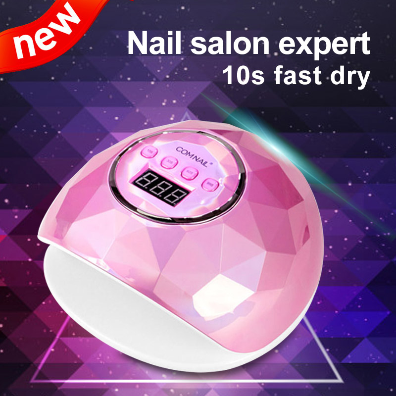 86W Powerful UV Lamp For Manicure Nail Dryer Pink/White LED UV Lamp For Nails LC LED Beads Fast Dry All Nail Gel LED Display