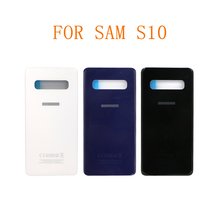 ORIGINAL S10 Back Housing Cover Battery Replacement Parts Real Door Case For SAM Sam-sung Galax S10 туфли galax galax ga016ambadr2