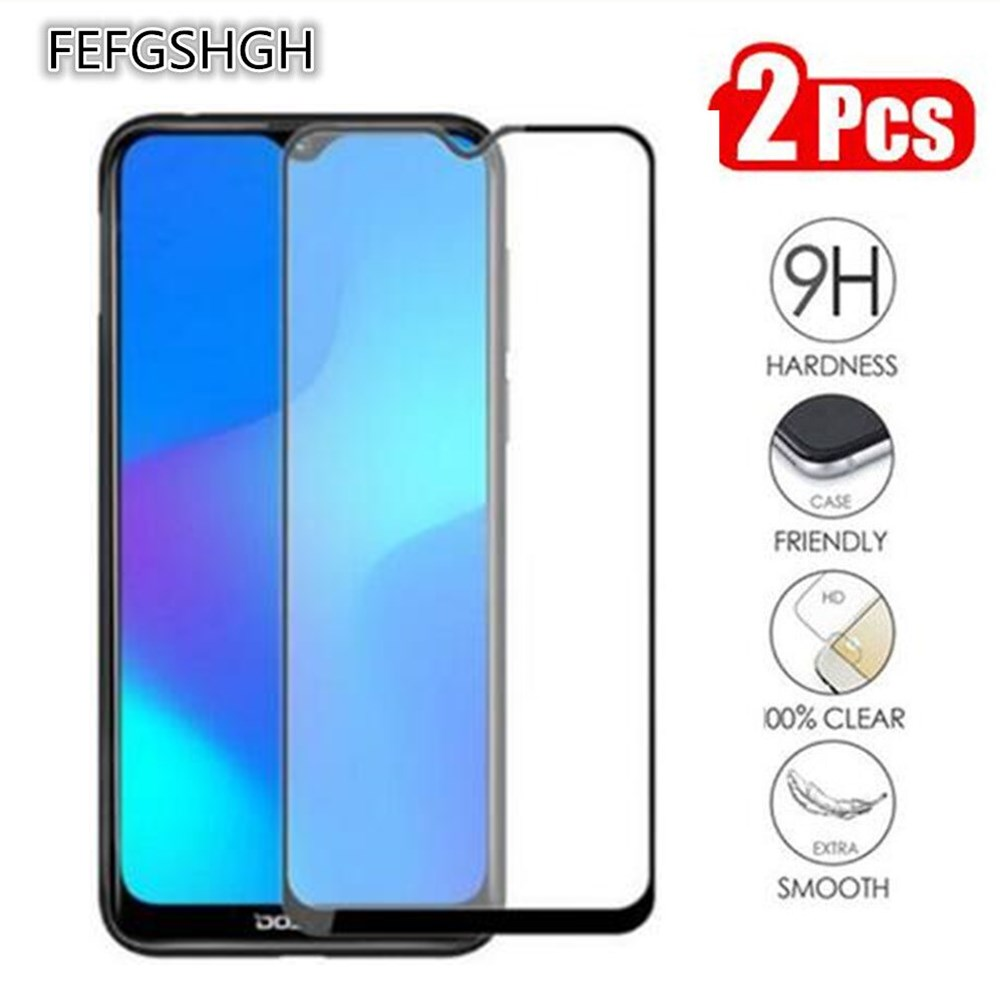 Full Glue Tempered Glass For Doogee N20 (Y9 Plus) Full Cover 9H Screen Protector Film For Doogee N20
