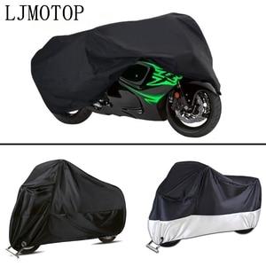 Image 5 - รถจักรยานยนต์กันน้ำฝนกันน้ำ Outdoor UV ป้องกันสำหรับ Yamaha FZ8 TDM 900 MT125 YZF R15 XT660 TMAX 500 530 XP 500 530