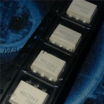 10 unids/lote MOC3063 SOP6 MOC3063SR2M SOP SMD IC nuevo y original en Stock Photocoupler IC chip