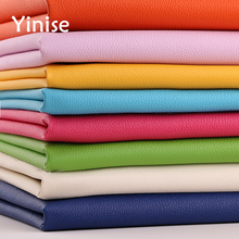 100x138cm Synthetic Leather Fabric Small Litchi PU Fabrics Sewing DIY Bags Sofa Faux Artificial Home Decoration