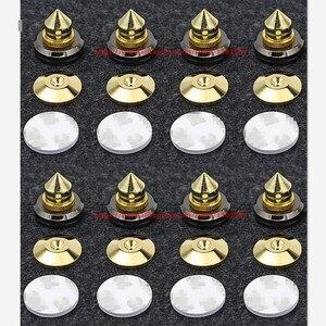 Image 1 - 8 комплектов мини шипы для планшетов, запасные части для динамиков, подставка для динамика «сделай сам», штифты и колодки, аксессуары