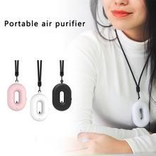 Стерилизующий очиститель воздуха pm25 ожерелье Мини Портативный