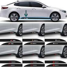 2 pçs logotipo do carro decalque automóvel lado da cintura adesivo de fibra carbono para chery tiggo 7 pro 8 4 5 3 2 t11 5x amuleto fora qq iq fulwin