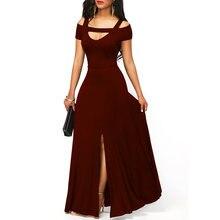 Летнее платье для женщин 2020 элегантные сексуальные с v образным