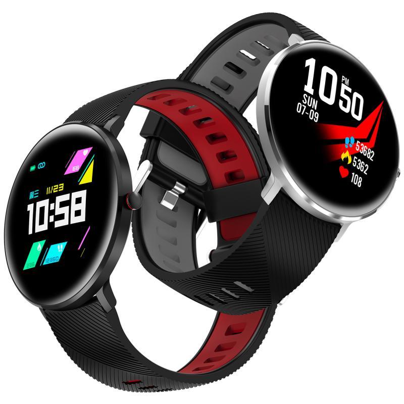 L10 montre intelligente hommes ECG fréquence cardiaque pression artérielle moniteur d'oxygène IP68 étanche Bluetooth hommes montre intelligente VS L5 L7 L8