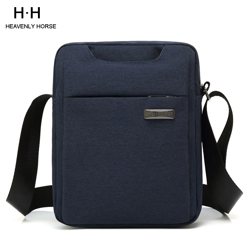 Men Bag 9.7 Inch Crossbody Bag Messenger Bag Water Repellent  Shoulder Bag For Tablet Bag  For Business