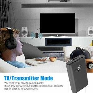 Image 4 - جديد 2 في 1 بلوتوث 5.0 جهاز ريسيفر استقبال وإرسال التلفزيون PC مكبر صوت للسيارة 3.5 مللي متر AUX ايفي الموسيقى محول الصوت